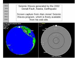 Alaska what type of seismic waves travel through earth images Recording earthquake motion identifying seismic waves ppt jpg