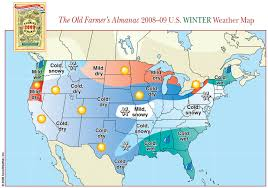 Weather Map Austin by Farmer U0027s Almanac Cold Snowy Winter Dry Summer For Tennessee