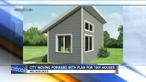 milwaukee advances tiny house plan for care teenagers