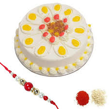 cakes online jamshedpur cakes online delivery shop rakhi with butterscotch cake