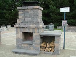 prefab outdoor fireplace interior design