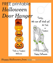 free printable halloween door hanger for your apartment community