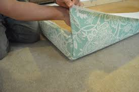 Easy Upholstered Headboard Diy Nearly Free Upholstered Headboard Using An Old Hollow Core