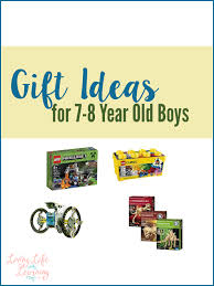 gift ideas for 7 8 year boys living as