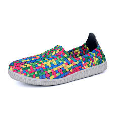 ultra light running shoes saidan weaving style slip on sneaker ultra lightweight running shoes