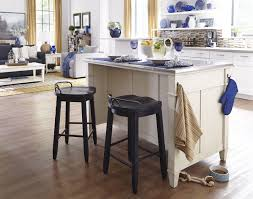 Kitchen Island Red by Kitchen Style Winsome Red Short Bar Stools And Wooden Bar And