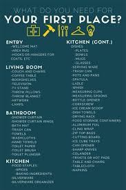 checklist essentials setting up house 279 best need to know images on pinterest personal development