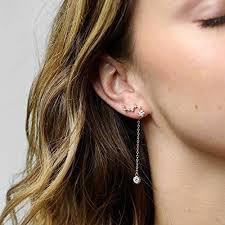 constellation earrings constellation earrings ear crawler earrings zodiac jewelry