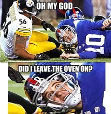Football Player Meme - sudden clarity football player