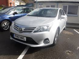 toyota avensis used 2012 toyota avensis tr d 4d reverse camera full service