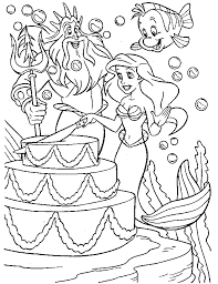 mermaid coloring u0026 coloring book