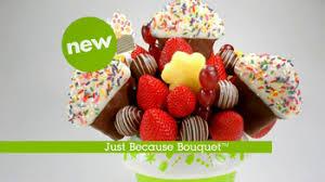 edibe arrangements edible arrangements tv commercial just because ispot tv