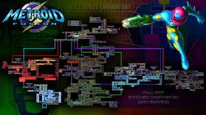 Metroid 2 Map Metroid Fusion Full Map Imgur