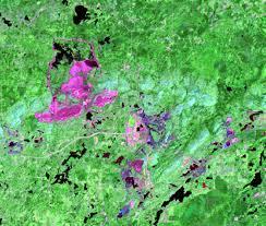 Minnesota On Map Mesabi Range Minnesota Usa Earthshots Satellite Images Of