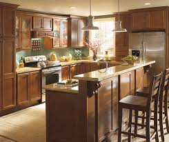 maple kitchen islands maple cabinets with bi level kitchen island homecrest