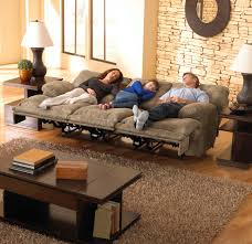 furniture catnapper recliner design with wooden coffee table and