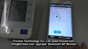 bluetooth blood pressure monitor for ios u0026 android youtube