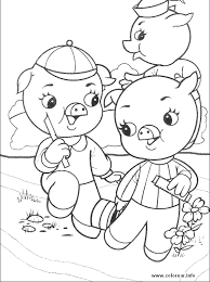 pigs 1 pigs printable coloring pages