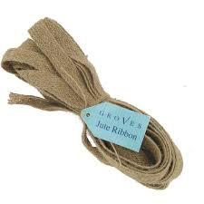 jute ribbon groves jute ribbon 5 metres hobbycraft