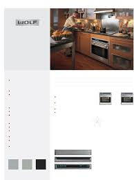 wolf oven so30f s user guide manualsonline com