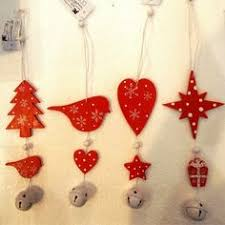 Wooden Reindeer Christmas Tree Decorations by Shabby Chic Wooden Reindeer Rudolph Christmas Tree Decorations