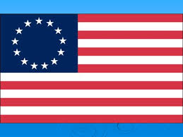 the british flag in 1776