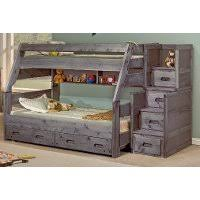 Bed Fort Driftwood Rustic Twin Over Full Loft Bed Fort Rc Willey