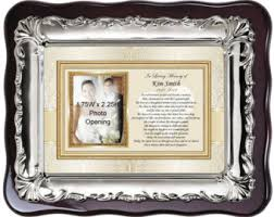 remembrance picture frame memorial photo frame etsy