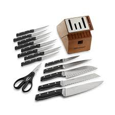 Self Sharpening Kitchen Knives by Wilkinson Sword Kitchen Knives Self Sharpening Knife Block Cook