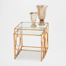 Zara Home Side Table Geometric Side Table Set Of 2 Occasional Furniture Bedroom