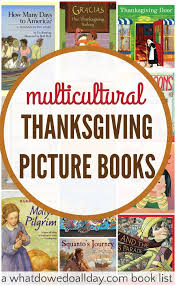 multicultural thanksgiving books for national holidays