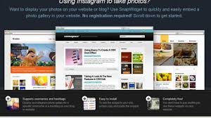 how to add an instagram photo gallery widget to your website or
