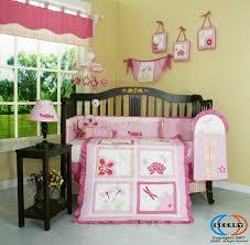 crib bedding sets girls amazon com geenny designer dragonfly 13pcs crib bedding set