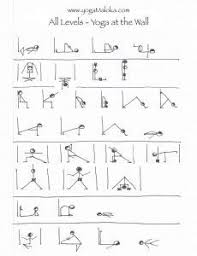 Chair Yoga Class Sequence This Is An Entire All Levels Class Sequence At The Wall Which I U0027m