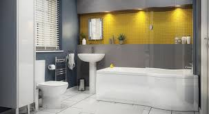 Yellow And Gray Bathroom Ideas Colors Cool And Sophisticated Designs For Gray Bathrooms