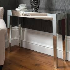 mirrored console table sleek and stunning table design to pick