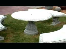 cement table and bench cement patio furniture serba tekno com