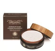 botanical loose mineral foundation translucent powder