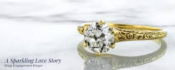 antique gold engagement rings doyle and doyle antique vintage and estate jewelry doyle doyle