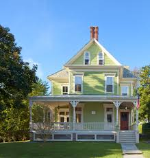 Front Of House Landscaping Ideas by Good Looking Greenland Home Fashionsin Exterior Victorian With