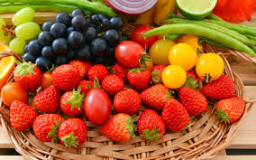 fruits and vegetables hd wallpaper for desktop high quality