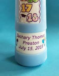 Personalized Birthday Candles 1 18 Year Numbered Contemporary Personalized Countdown Birthday
