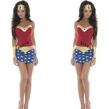 Wonder Woman Costume Anime Superhero Wonder Woman Costume With Cloak Cosplay For