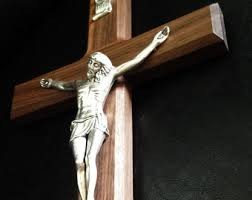 wall crucifix for sale wall crucifix etsy
