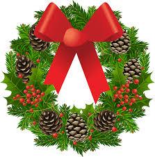 holly wreaths clipart in black mandy art market clipartix