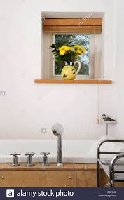Modern Bathroom Fittings Modern Bathroom Fittings In A Home Uk Stock Photo Royalty Free