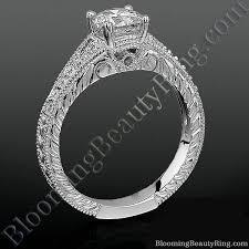 cool rings design images Artistic hand carved design split shank diamond engagement ring jpg