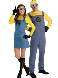 Minion Costumes Halloween Minion Couples Costumes Party