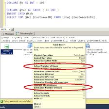 Sql Declare Temp Table Which One Is Better Temp Table Or Table Variable Improving My