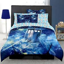 Dr Who Duvet Doctor Who Electrical Tardis Bed In A Bag Thinkgeek